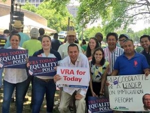 NHLA in Action at the VRA Rally - June 2015
